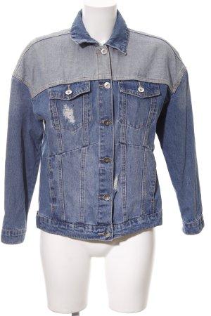 Vero Moda Jeansjacke blau-himmelblau Jeans-Optik