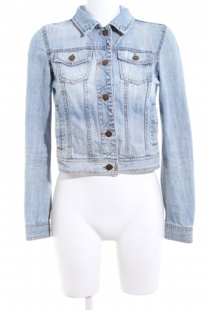 Vero Moda Denim Jacket azure-white casual look