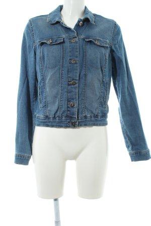 Vero Moda Jeansjacke kornblumenblau Metallknöpfe