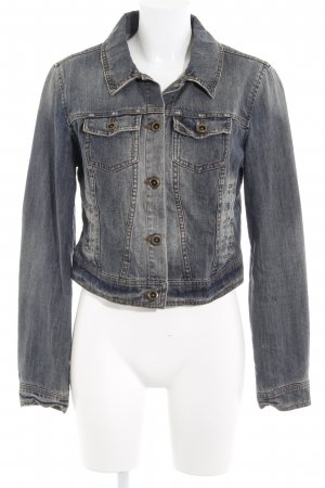 Vero Moda Jeansjacke wollweiß-graublau Casual-Look