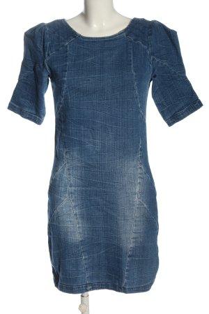 Vero Moda Jeansowa sukienka niebieski W stylu casual