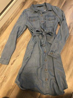 Vero Moda Jeansowa koszula chabrowy-błękitny