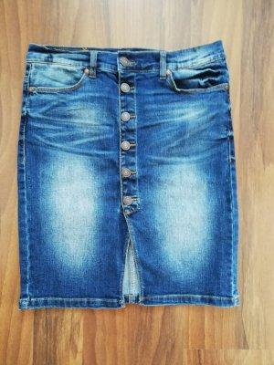Vero Moda Gonna di jeans blu-blu scuro