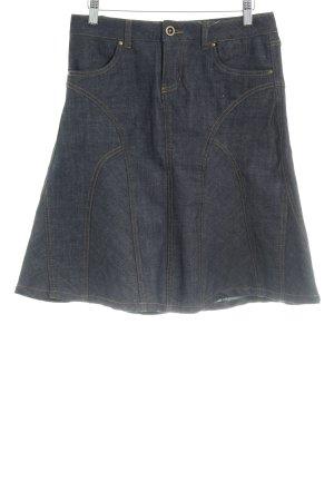 Vero Moda Jeansrock dunkelblau Casual-Look