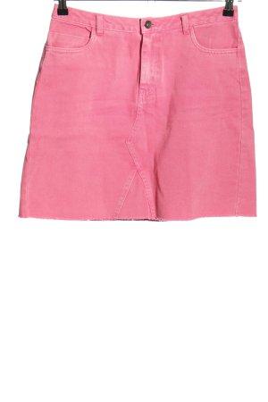 Vero Moda Jeansrock pink Casual-Look