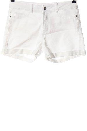 Vero Moda Pantaloncino di jeans bianco stile casual