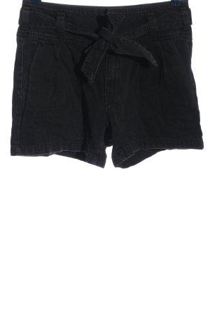 Vero Moda Jeansshorts schwarz Casual-Look