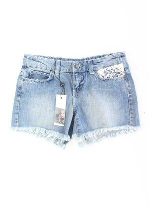 Vero Moda Shorts blu-blu neon-blu scuro-azzurro Cotone