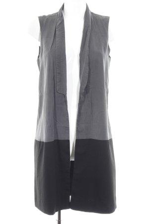 Vero Moda Jeansweste anthrazit-schwarz Casual-Look