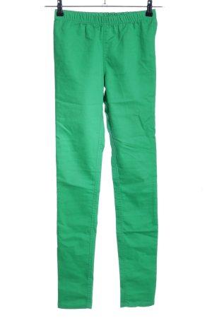 Vero Moda Jeggings grün Casual-Look