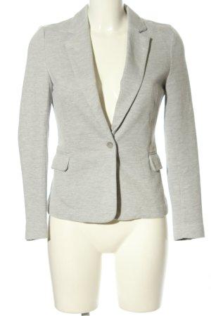 Vero Moda Blazer in jersey grigio chiaro puntinato stile casual