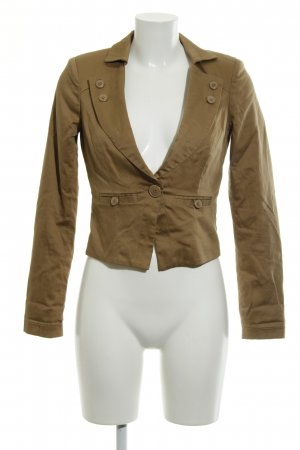 Vero Moda Jerseyblazer hellbraun-beige Casual-Look