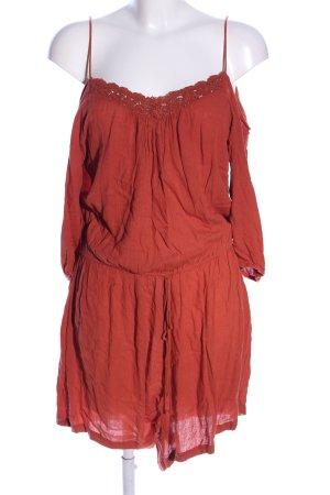Vero Moda Jumpsuit rot Casual-Look