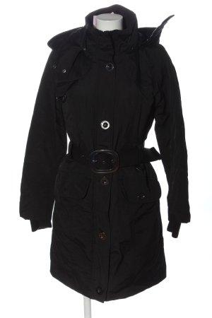 Vero Moda Kurtka z kapturem czarny W stylu casual