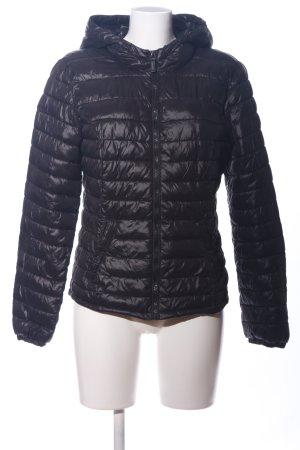 Vero Moda Kapuzenjacke schwarz Steppmuster Casual-Look