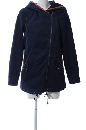 Vero Moda Kapuzenjacke blau-braun Casual-Look