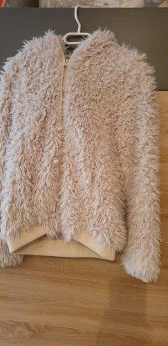 Vero Moda Kurtka z kapturem jasnobeżowy-kremowy