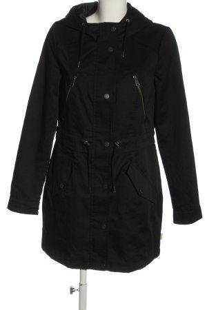 Vero Moda Veste à capuche noir style décontracté