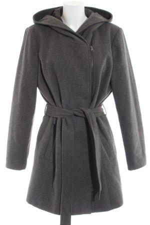 Vero Moda Manteau à capuche gris clair moucheté style d'affaires