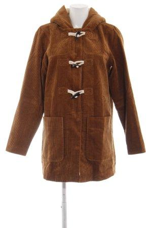 Vero Moda Manteau à capuche brun style décontracté