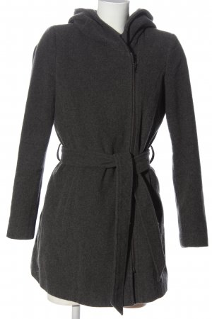 Vero Moda Cappotto con cappuccio grigio chiaro puntinato stile casual