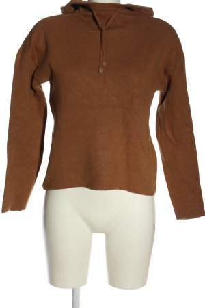 Vero Moda Hooded Sweatshirt brown casual look