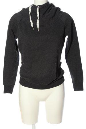 Vero Moda Kapuzensweatshirt hellgrau meliert sportlicher Stil