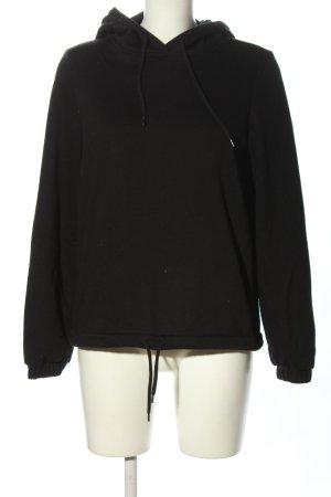 Vero Moda Sudadera con capucha negro look casual