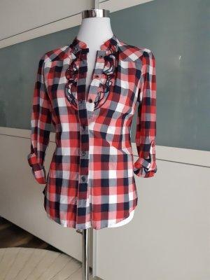 Vera Moda Geruite blouse veelkleurig Katoen