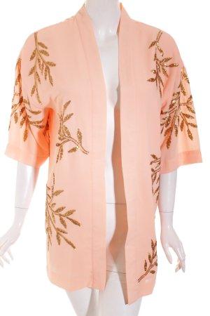 Vero Moda Kimono apricot Street-Fashion-Look