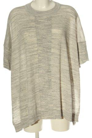 Vero Moda Jersey kimono crema-gris claro moteado look casual