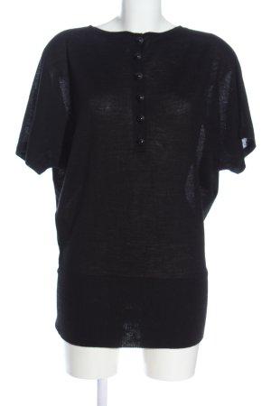 Vero Moda Pull kimono noir style décontracté