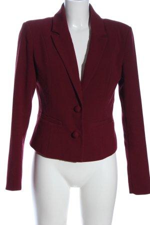 Vero Moda Klassischer Blazer rot Streifenmuster Casual-Look