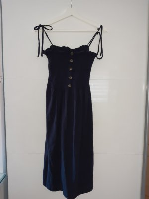 Vero Moda Kleid Blau mit Knopfleiste