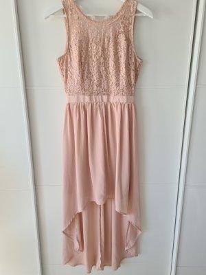 VERO MODA Kleid, festlich, Spitze, rosa, Gr.36