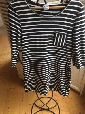 Vero Moda Kleid schwarz weiß Größe L aus Baumwolle