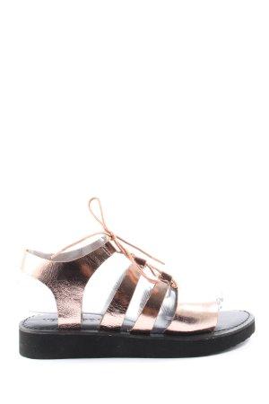 Vero Moda Sandales confort bronze style décontracté