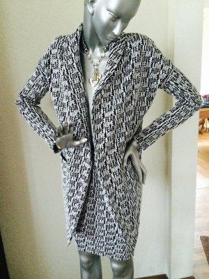 Vero Moda Kostüm Blazer mit Rock schwarz/weiß Gr. XS