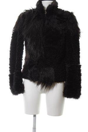Vero Moda Giacca in eco pelliccia nero stile casual