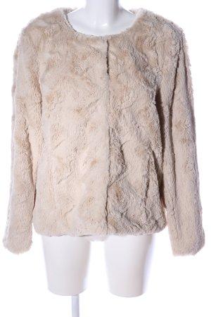 Vero Moda Fake Fur Jacket natural white casual look