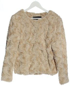 Vero Moda Kurtka ze sztucznym futrem kremowy-w kolorze białej wełny