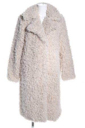 Vero Moda Fake Fur Coat natural white casual look