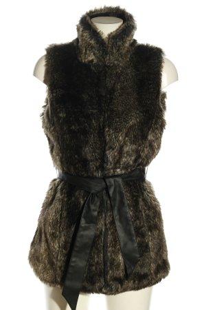 Vero Moda Fake Fur Vest black casual look