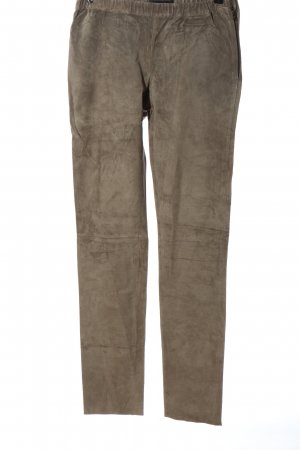 Vero Moda Faux Leather Trousers brown casual look