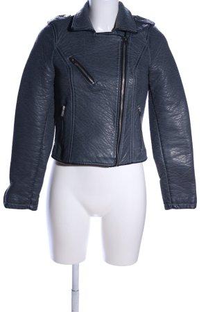 Vero Moda Kurtka z imitacji skóry niebieski W stylu casual