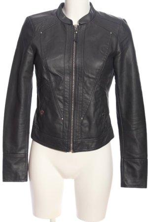Vero Moda Faux Leather Jacket black casual look
