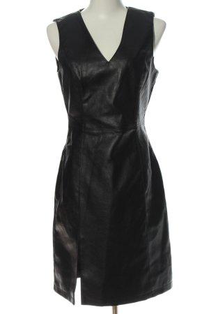 Vero Moda Kunstlederkleid schwarz Elegant