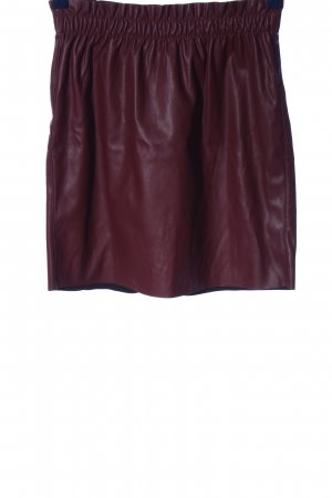 Vero Moda Faux Leather Skirt pink casual look