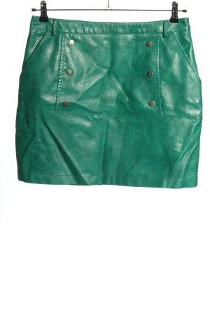 Vero Moda Gonna in ecopelle verde stile stravagante