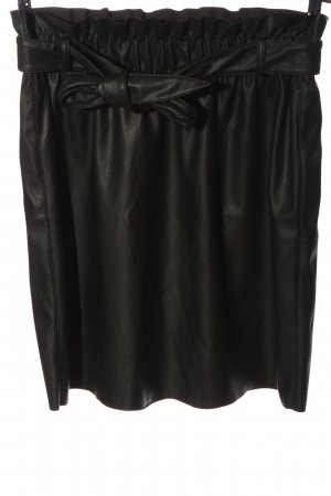 Vero Moda Kunstlederrock schwarz Elegant